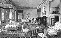 Queen Victoria's sitting room.